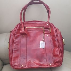 Cabrelli & Co. | NWOT square mod vegan leather bag